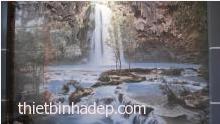 Gạch tranh thác nước phong thủy KTSPR 9550